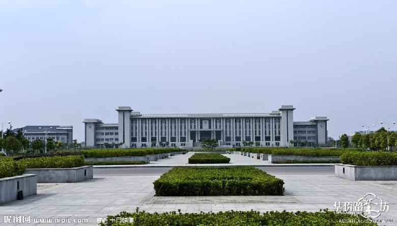 东南大学九龙湖校区内景(图书馆)