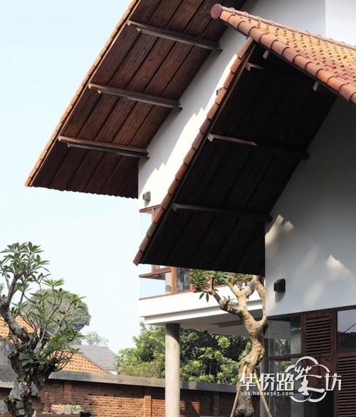 南京别墅装修之外墙涂料高清图片
