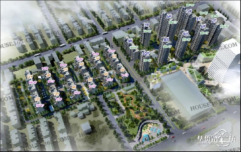 中航科技城 项目鸟瞰图