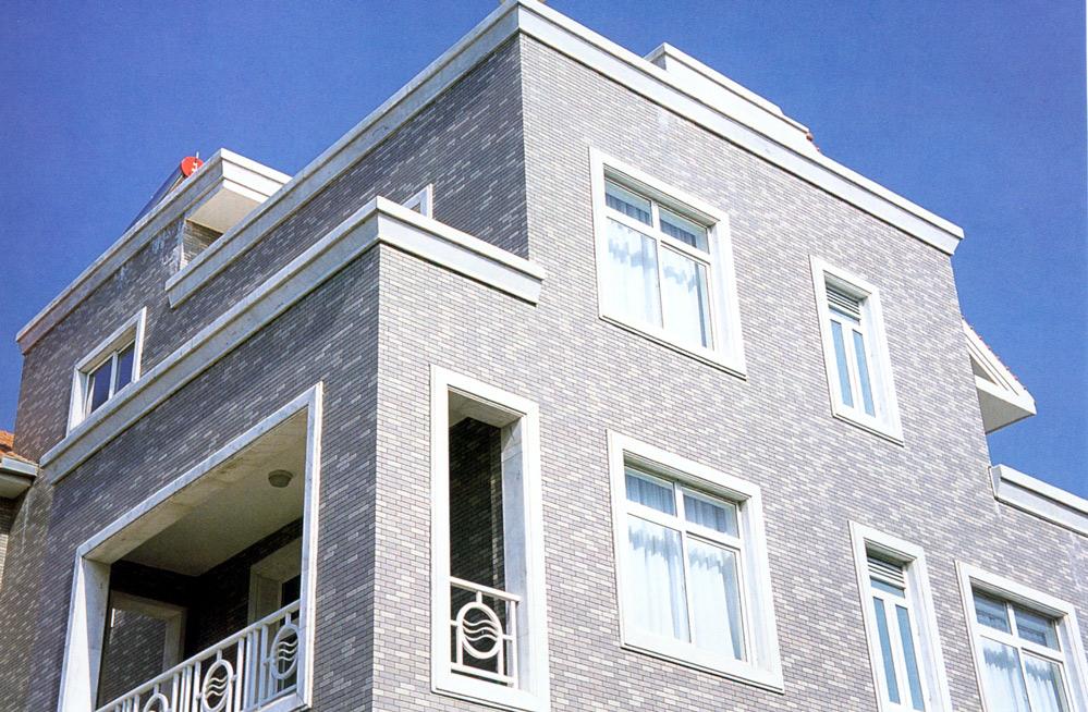外墙瓷砖搭配效果图