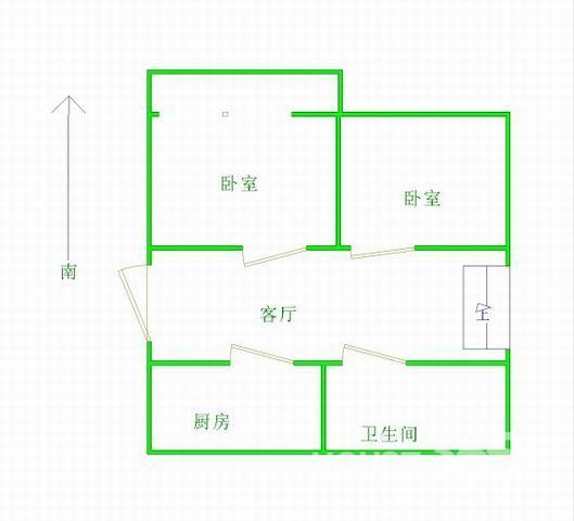顺驰优选房:外贸一区旁小户型南小、45中一楼稀缺房源,双地铁房