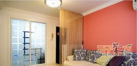 客厅隔断效果图赏析 合理规划家装空间