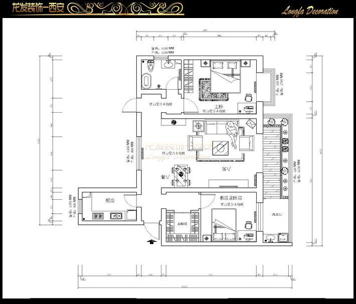 楼盘:宏星国际户型:三室一厅预算:5-10万风格:欧式 楼盘:蓝天华庭户型