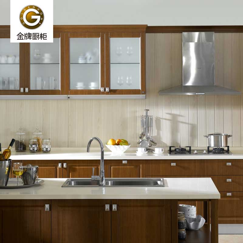 金牌厨柜 苏黎世 整体橱柜 大理石台面 定制厨房橱柜 定金