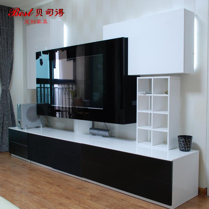 贝思德环保家具之烤漆电视柜定做-产品价格|报价