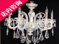 水晶吊灯3658-6银