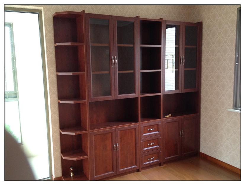 型材:此书柜柜体采用实木颗粒板制作而成