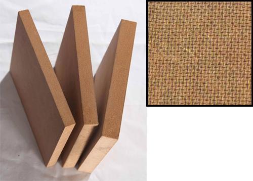 纤维板又名密度板,是以木质纤维或其他植物素纤维为原料,施加茑醛树脂