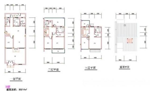 江宁大学城 药科大学福利房 联排别墅中间户 房型好 得房率高