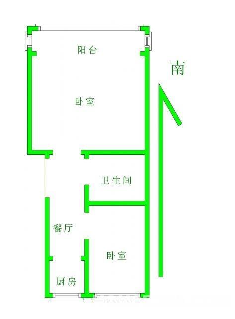教师公寓(湖熟)3室1厅1卫68平米整租精装
