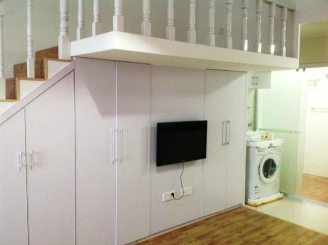 明发滨江新城 房子是挑高的 精装修 单身公寓 送设施 房主急