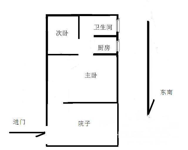 独家小院150平方米房屋设计图 照片