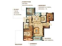 B2户型 2+1房2厅2卫115平