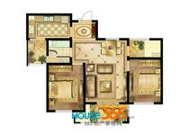 1#A户型02室两室两厅一厨一卫_97.6�O