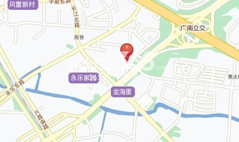 金科财富商业广场交通图