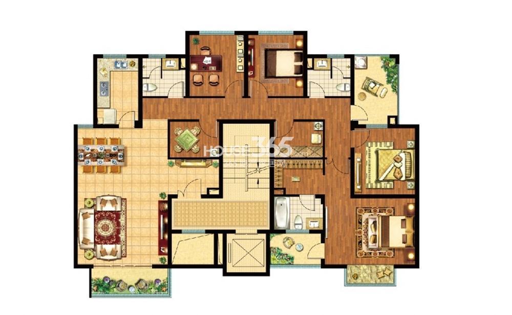 12x9米的房屋带车库设计图