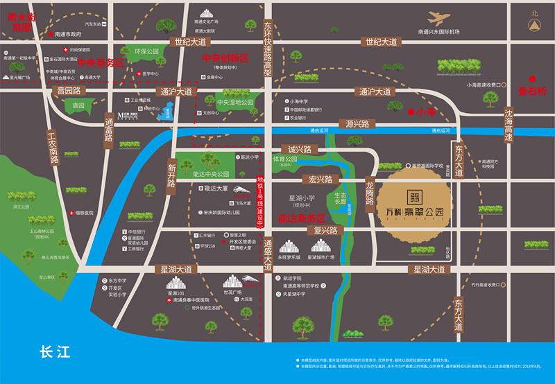 万科翡翠公园交通图