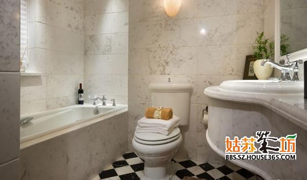 卫生间装修效果图欣赏!