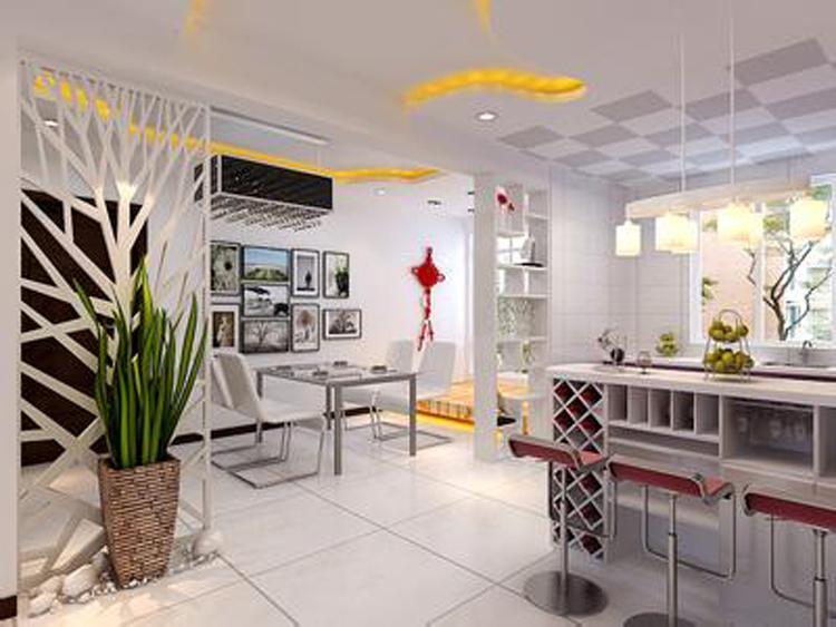 家装客厅隔断应该如何设计?