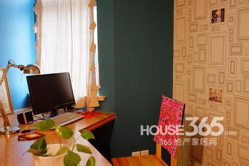 混搭风格装修 94平米小户型打造彩色空间(图)