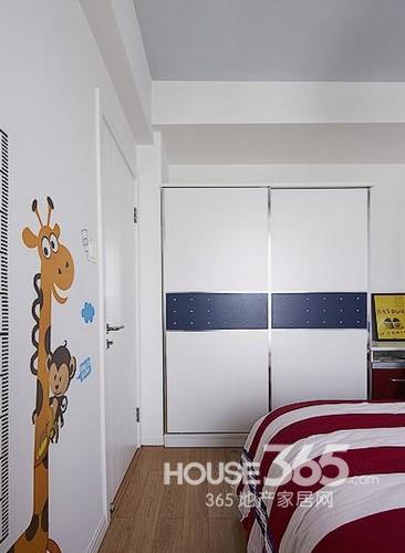90平米房屋装修清新两居室 15万半包雅致家高清图片