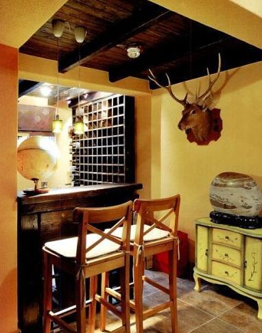 家庭酒吧装修效果图 情趣设计让生活high起来
