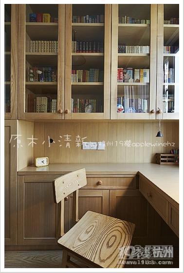 小户型室内设计效果图,原木小清新,将绿色进行到底!