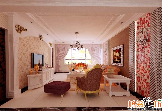 何-中国室内装修