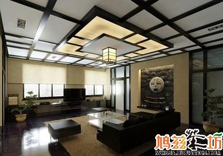 6个新中式电视背景墙 古韵与现代融合