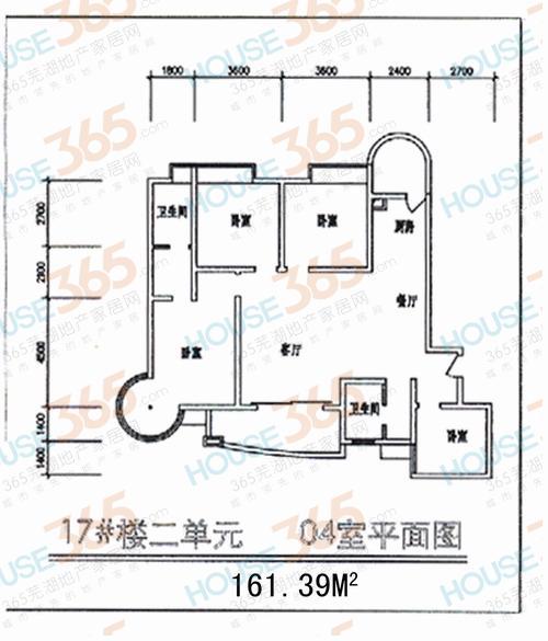 春江花园户型图