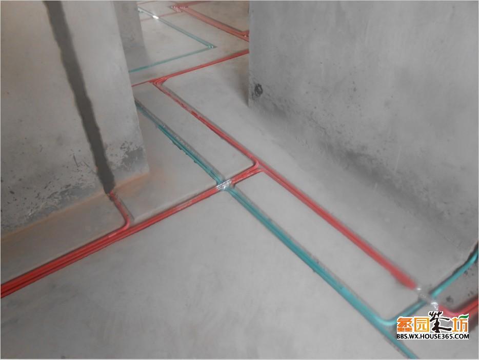 两室装修电路布线图