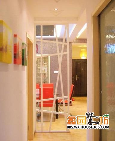 客廳玻璃隔斷效果圖 8式通透明亮