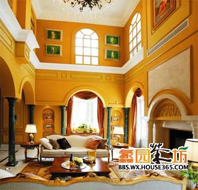 房型以欧式风格为主,区域内别墅氛围浓郁