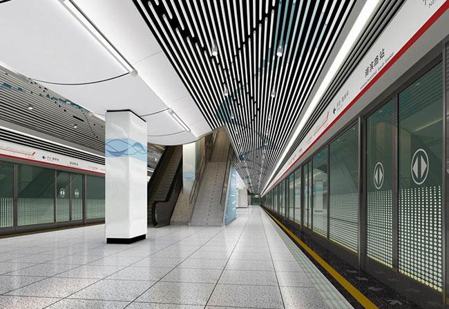> 无锡地铁一号线效果图和实景图大对比,欢迎茶油大们来评价下