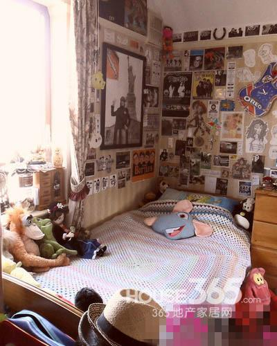 迷你空间 5平米卧室装修设计图欣赏