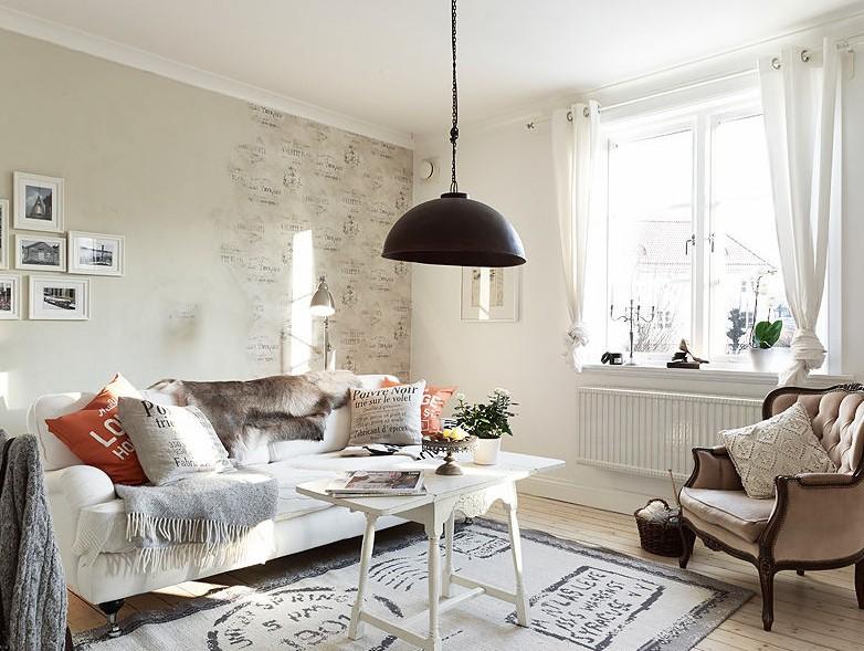 for Wohnzimmer vintage modern