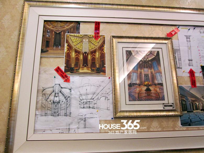 【腾业国王镇欧式庄园台地景致】设计手稿与兰特庄园